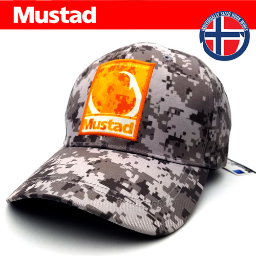Mustad Pro Wear Multi Fit Fishing Cap - Salt Digi Camo image